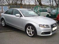 2010 AUDI A4 2.0 TDI EXECUTIVE SE 4d 141BHP £7990.00