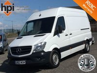 2014 MERCEDES-BENZ SPRINTER 2.1 313 CDI MWB FACELIFT HIGH ROOF £9490.00