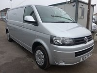 USED 2014 14 VOLKSWAGEN TRANSPORTER 2.0 T30 TDI TRENDLINE LWB, 102 BHP, PARK ASSIST, CRUISE CONTROL
