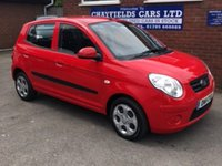 USED 2011 11 KIA PICANTO 1.0 SPICE 5d 61 BHP ONE OWNER FULL SERVICE HISTORY
