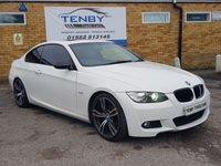 2008 BMW 3 SERIES 2.0 320I M SPORT 2d 168 BHP £4489.00