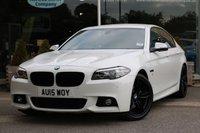 2015 BMW 5 SERIES 2.0 520D M SPORT 4d AUTO 188 BHP £19734.00