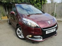 2012 RENAULT SCENIC 1.5 DYNAMIQUE TOMTOM ENERGY DCI S/S 5d 110 BHP £6000.00