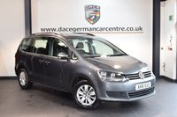 USED 2011 61 VOLKSWAGEN SHARAN 2.0 SE TDI DSG 5DR 7 SEATER AUTO 142 BHP + FULL VW SERVICE HISTORY + BLUETOOTH + CRUISE CONTROL + SPORT SEATS + AUXILIARY PORT + HEATED MIRRORS + 7 SEATER + PARKING SENSORS + 16 INCH ALLOY WHEELS +