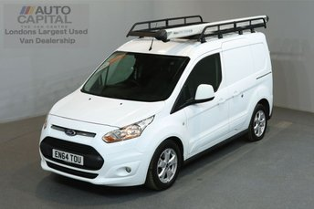 2015 FORD TRANSIT CONNECT 1.6 200 LIMITED 114 BHP L1 H1 SWB LOW ROOF A/C £8490.00