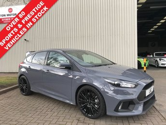 2016 FORD FOCUS 2.3 RS 5DR 346 BHP IN STEALTH GREY & CAT 6 SECURITY IMO  £25991.00