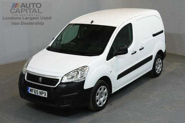 2015 65 PEUGEOT PARTNER 1.6 HDI PROFESSIONAL 92 BHP SWB A/C ONE OWNER FROM NEW, MOT UNTIL 29/09/2018