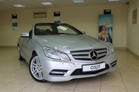 2013 MERCEDES-BENZ E CLASS 2.1 E250 CDI BLUEEFFICIENCY SPORT 2d AUTO 204 BHP £15950.00