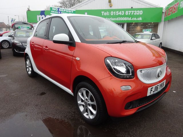 USED 2016 16 SMART FORFOUR 1.0 PASSION 5d 71 BHP ***TEST DRIVE TODAY***