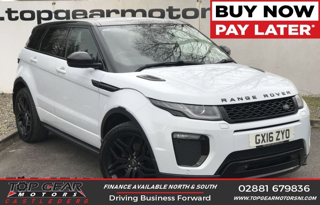 USED 2016 16 LAND ROVER RANGE ROVER EVOQUE HSE 2.0 TD4 DYNAMIC AWD 180 BHP AMAZING COLOUR