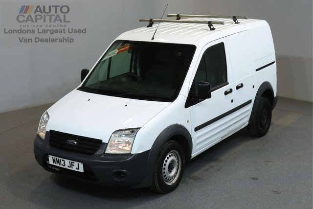 2013 13 FORD TRANSIT CONNECT 1.8 T200 74 BHP SWB ONE OWNER FROM NEW, FULL SERVICE HISTORY