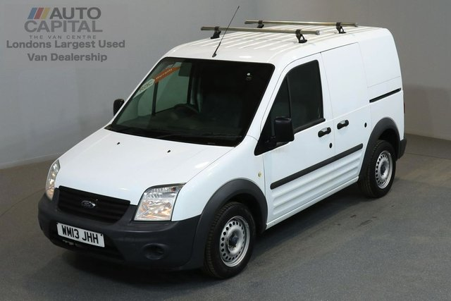 2013 13 FORD TRANSIT CONNECT 1.8 T200 74 BHP SWB ONE OWNER FROM NEW, SERVICE HISTORY