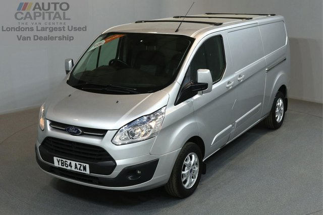 2014 64 FORD TRANSIT CUSTOM 2.2 290 LIMITED 124 BHP L2 H1 LWB LOW ROOF A/C ONE OWNER FROM NEW, MOT UNTIL 12/12/2018
