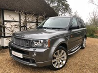 USED 2008 08 LAND ROVER RANGE ROVER SPORT 3.6 TDV8 SPORT HST 5d AUTO 269 BHP
