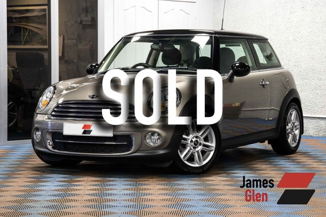USED 2012 62 MINI HATCH COOPER 1.6 COOPER D 3d 112 BHP Two Owners | Full MINI Service Histroy