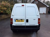USED 2005 05 PEUGEOT EXPERT 2.0 HDI 110PS 5 SEAT WHITE CREWVAN **NO VAT**