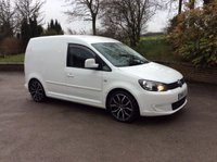 USED 2011 61 VOLKSWAGEN CADDY C20 1.6 TDI BLUE MOTION WHITE CUSTOM VAN **NOW SOLD**