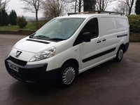 USED 2008 08 PEUGEOT EXPERT 2.0 HDI 6 SPEED, LWB L1H2, WHITE VAN, **NO VAT**