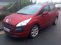 USED 2010 10 PEUGEOT 3008 1.6 ACTIVE HDI 5d 110 BHP Better is not available, 37000 miles, diesel mpv. Superb.