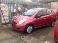 USED 2012 12 SUZUKI ALTO 1.0 SZ3 5d 68 BHP Free road tax, low insurance, low milage. 12 months warranty.