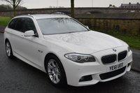 2011 BMW 5 SERIES 2.0 520D M SPORT TOURING 5d AUTO 181 BHP £11999.00