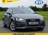USED 2014 14 AUDI A3 2.0 TDI SE 5d AUTO 148 BHP We are delighted to offer this 2014 Audi A3 2.0tdi SE 5dr AUTOMATIC in grey metallic with just 36500 miles, 2 keys, 1 keeper and records for 2 services.