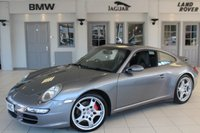 USED 2006 06 PORSCHE 911 3.8 CARRERA 4 S 2d 350 BHP FULL LEATHER SEATS + FULL SERVICE HISTORY + SAT NAV + SUNROOF + 18 INCH ALLOYS + TELEPHONE + AIR CONDITIONING + ELECTRIC WINDOWS + HEATED MIRRORS