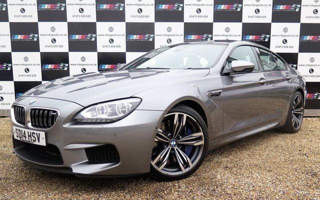 2014 14 BMW 6 SERIES 4.4 M6 GRAN COUPE 4d AUTO 553 BHP