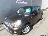 USED 2011 11 MINI HATCH COOPER 1.6 COOPER D 3d 112 BHP CHEAP TAX, GREAT MPG
