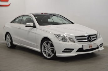 2012 MERCEDES-BENZ E CLASS 2.1 E220 CDI BLUEEFFICIENCY SPORT 2d AUTO 170 BHP £13995.00