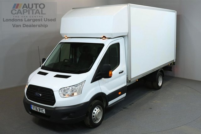 2016 16 FORD TRANSIT 2.2 350 124 BHP L4 EXTRA LWB TAIL LIFT FITTED  ONE OWNER FROM NEW, SERVICE HISTORY