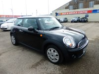USED 2009 59 MINI HATCH FIRST 1.4 FIRST 3d 75 BHP SH * LOW INSURANCE * GOT BAD CREDIT * WE CAN HELP *