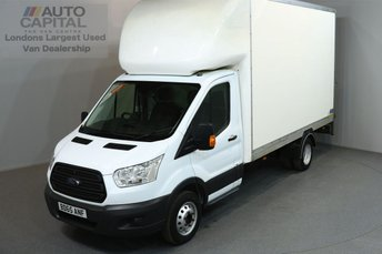 2015 FORD TRANSIT 2.2 350 C/C 124 BHP L3 H4 LWB EXTRA HIGH ROOF REAR TAIL LIFT FITTED LUTON VAN  £15290.00