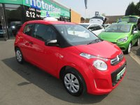 USED 2015 15 CITROEN C1 1.0 TOUCH 3d 68 BHP 1 OWNER VEHICLE..LOW TAX AND LOW INSURANCE