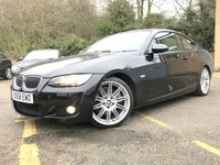 2008 BMW 3 SERIES 3.0 325I M SPORT 2d AUTO FULL HEATED BLACK LEATHER, ONLY 64K £7990.00