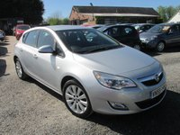 USED 2009 59 VAUXHALL ASTRA 1.6 EXCLUSIV 5d 113 BHP FULL SERVICE HISTORY CD AC ELECTRIC PACK