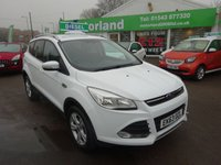 USED 2013 63 FORD KUGA 2.0 ZETEC TDCI 5d 138 BHP **LOW MILEAGE ....SERVICE HISTORY...TEST DRIVE TODAY...**