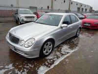 2006 MERCEDES-BENZ E CLASS 3.0 E280 CDI AVANTGARDE 4d AUTO 187 BHP £3995.00