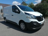 USED 2014 64 RENAULT TRAFIC 1.6 SL27 BUSINESS ENERGY DCI S/R P/V 1d 120 BHP AIR CONDITIONING - BLUETOOTH - REAR SENSORS - ONE OWNER - 49000 MILES - SERVICE HISTORY