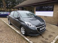 USED 2016 65 PEUGEOT 208 1.6 BLUE HDI ACTIVE 5d 75 BHP # 1 OWNER # FULL SERVICE HISTORY # 2 KEYS # ZERO TAX #