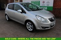 USED 2009 59 VAUXHALL CORSA 1.2 SXI A/C 16V 5d 80 BHP +Jst Serviced inc Timing Chain