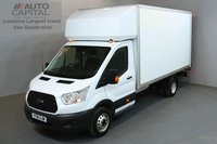 USED 2016 16 FORD TRANSIT 2.2 350 124 BHP L4 EXTRA LWB TAIL LIFT FITTED  ONE OWNER FROM NEW, SERVICE HISTORY