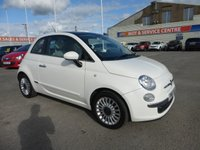 USED 2011 61 FIAT 500 1.2 LOUNGE 3d 69 BHP FSH * LOW INSURANCE * GOT BAD CREDIT * WE CAN HELP *