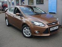 2013 FORD FOCUS 1.0 TITANIUM 5d 124 BHP £6980.00