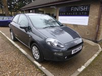 USED 2014 14 FIAT PUNTO 1.4 EASY 3d 77 BHP # FULL FIAT SERVICE HISTORY # 2 KEYS # 1 OWNER #