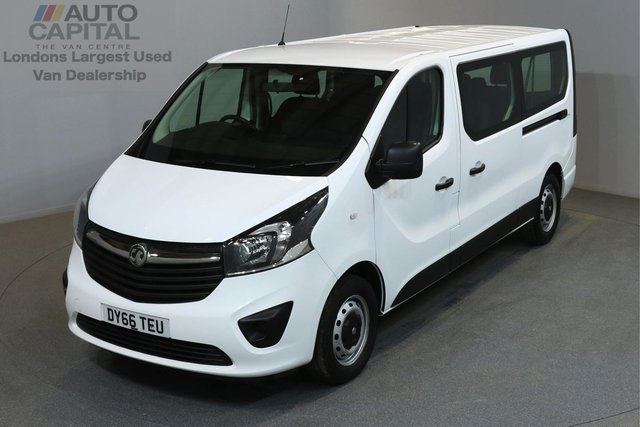 2016 66 VAUXHALL VIVARO 1.6 CDTI 125 BHP LWB LOW ROOF A/C E6 MINIBUS ONE OWNER FROM NEW, MANUFACTURER WARRANT UNTIL 22/09/2019
