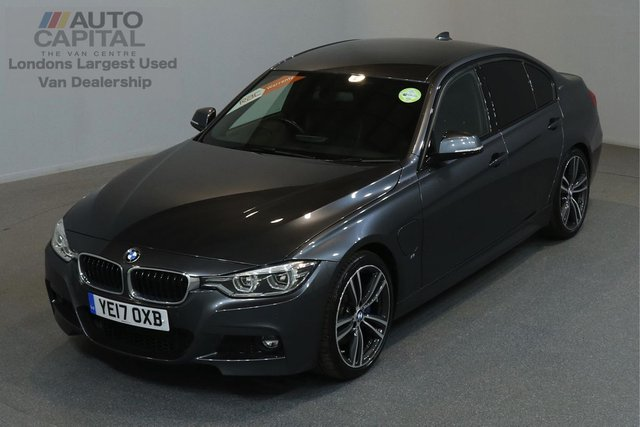 2017 17 BMW 3 SERIES 2.0 330E M SPORT AUTO 181 BHP HYBRID ELECTRIC A/C SAT NAV VAT QUALIFIED, ONE OWNER FROM NEW, MANUFACTURER WARRANTY UNTIL 12/04/2020