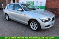 USED 2015 15 BMW 1 SERIES 1.6 114D ES 5d 94 BHP +LOW MILES +LOW TAX +SERVICED.