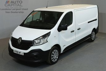 2015 RENAULT TRAFIC 1.6 LL29 BUSINESS 115 BHP L2 H1 LWB LOW ROOF £8790.00