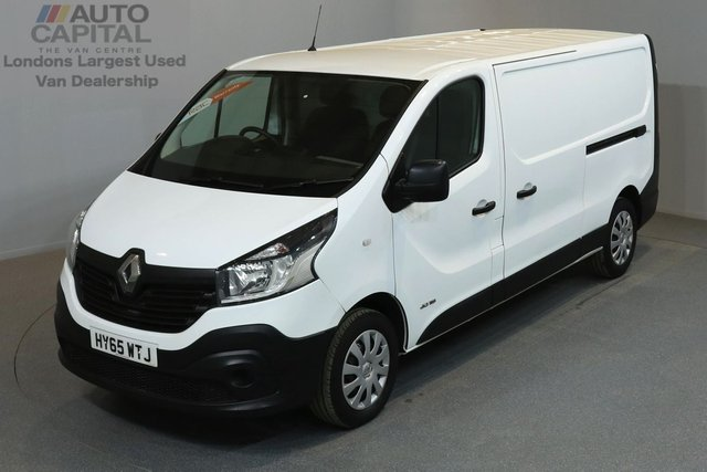 2015 65 RENAULT TRAFIC 1.6 LL29 BUSINESS 115 BHP L2 H1 LWB LOW ROOF ONE OWNER FROM NEW, SERVICE HISTORY